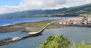 Lajes do Pico Maritime sidewalk | Azores, Portugal