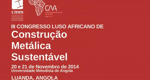 Imagem III Luso-African Congress for Metallic Sustainable Construction